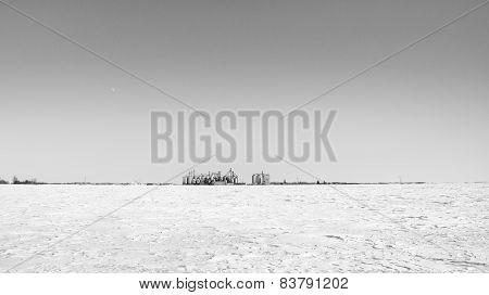 Rural grain terminal