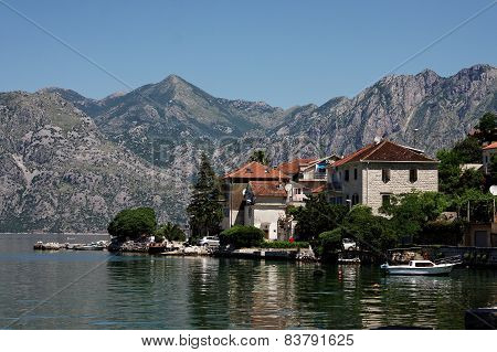 Dobrota village, Kotor Bay