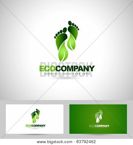 Eco Green Steps Logo