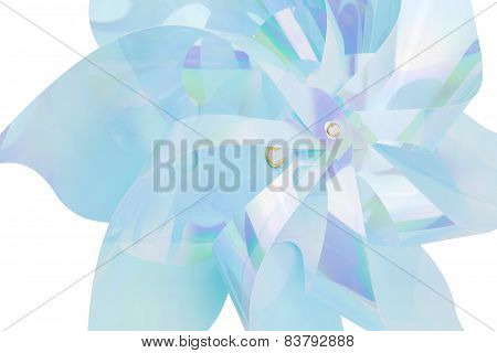 Blue Toy Pinwheel