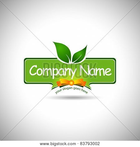 Food Label Logo Design