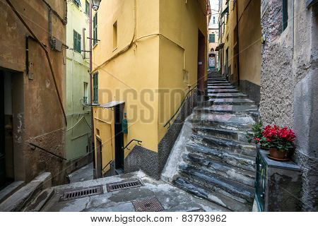Alleys Of Vernazza
