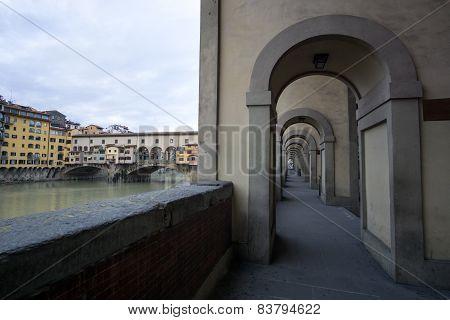 Corridors In Vecchio Bridge