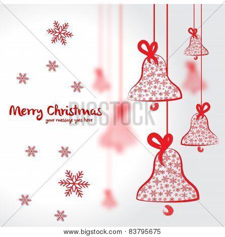 Christmas postcard illustration