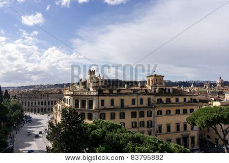 Panorama View Of Rome