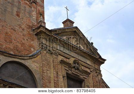 Church of St. Nazzaro. Piacenza. Emilia-Romagna. Italy.