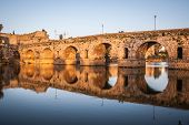 pic of calatrava  - Roman bridge of Merida - JPG