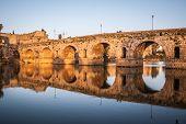 picture of calatrava  - Roman bridge of Merida - JPG