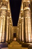 picture of ramses  - Colonnade in the Luxor Temple  - JPG