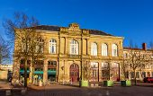 stock photo of leopold  - Buildings on Place Leopold in Luneville  - JPG