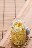 pic of soybean sprouts  - Preserved Soy Sprouts  - JPG