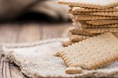 foto of biscuits  - Portion of Butter Biscuits  - JPG