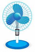 stock photo of heatwave  - table fan  - JPG
