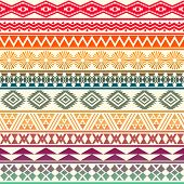 picture of tribal  - Tribal striped seamless pattern - JPG
