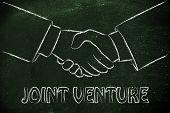 image of business-partner  - business partners shaking hands - JPG