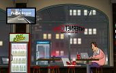 image of internet-cafe  - A Funny Day at the Internet Cafe  - JPG