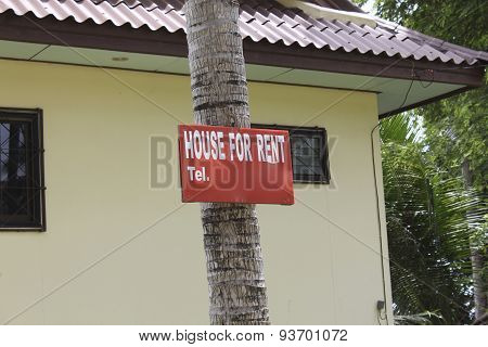House For Rent...