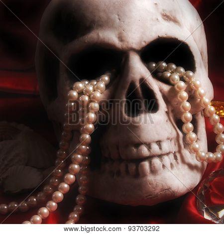 Skull And Treasure