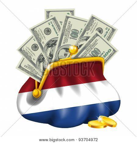 Economics and business purse Netherlands