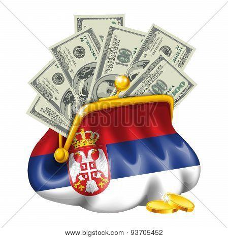 Economics and business purse Serbia