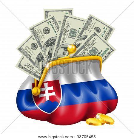 Economics and business purse Slovakia
