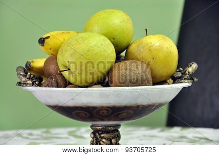 Juicy Fruits In A Bowl