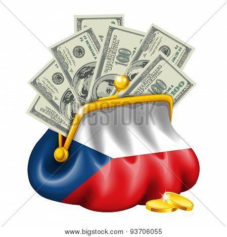Economics and business purse Czech Republic