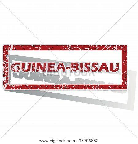 Guinea-Bissau outlined stamp