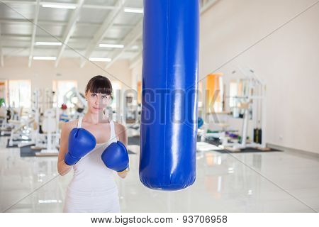 Boxe Training In Gym