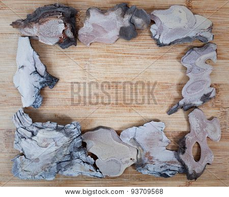 Wooden frames for paintings and photographs