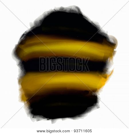 background bee coloring