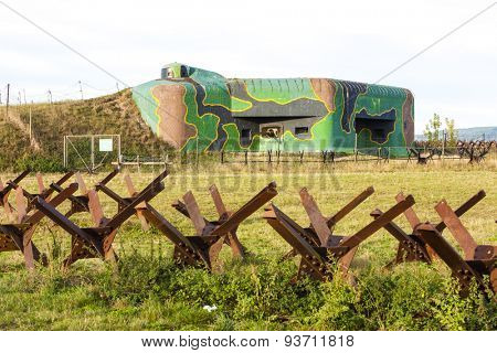 bunker near Satov, Czech Republic