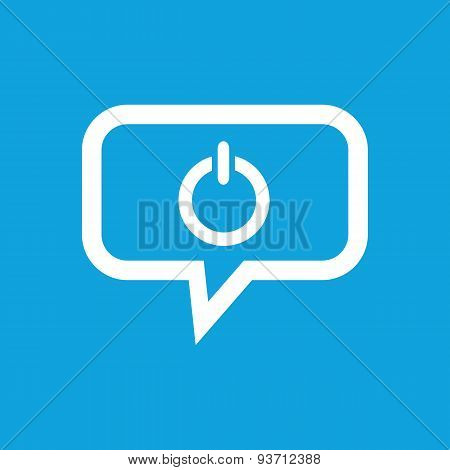Power message icon