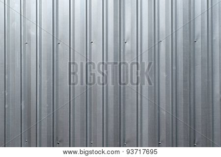 Abstract background  is Silver Metal sheet wall