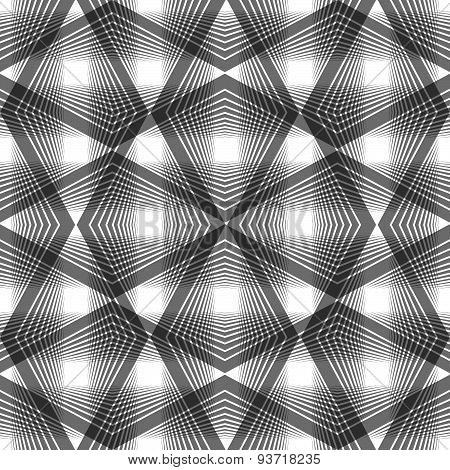 Abstract vintage seamless background, vector illustration, monochrome seamless pattern