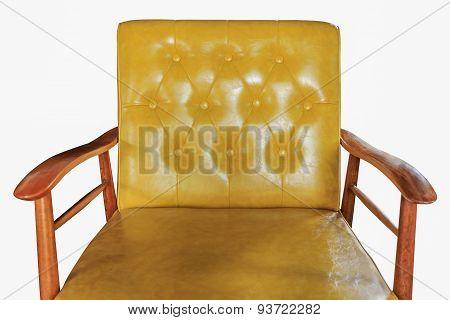 Sofa Leather Furniture Isolated