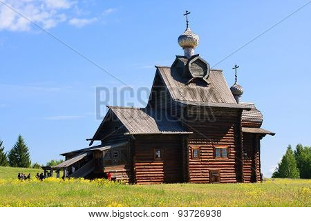 Wooden Church Of Transfiguration.