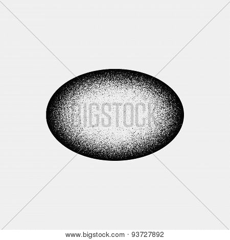 Abstract Ellipse Badge Template