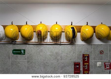 Yellow Construction Hats