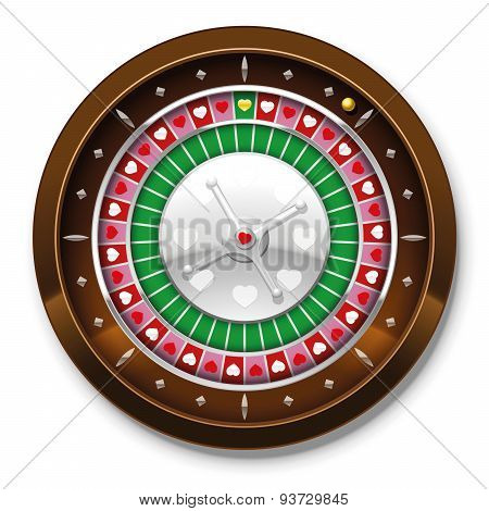 Roulette Love Wheel Hearts Game