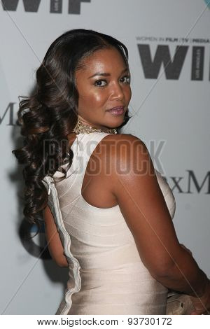 LOS ANGELES - JUN 16:  Tamala Jones at the Women In Film 2015 Crystal + Lucy Awards at the Century Plaza Hotel on June 16, 2015 in Century City, CA