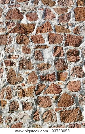 Masonry Wall.