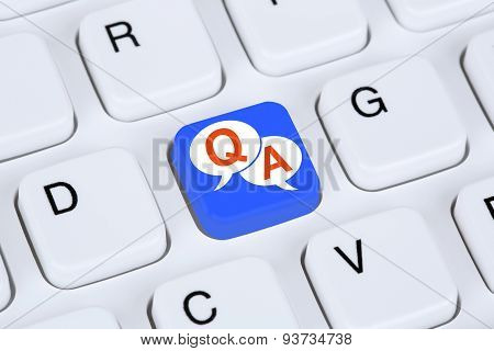 Question And Answer Support Online Help Contact Customer Service