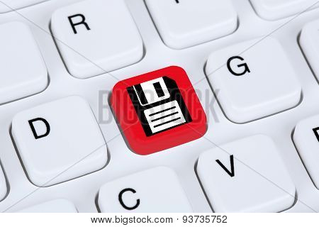 Save Data On Computer Hard Disk