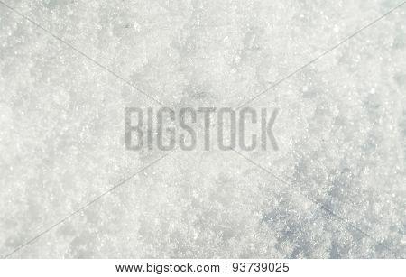 Macro Of Snow