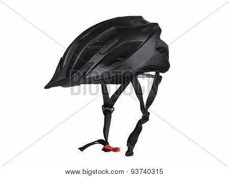 Black Bicycle Helmet.