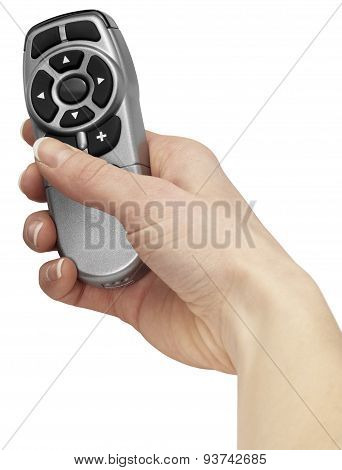 Hand And Remote Control