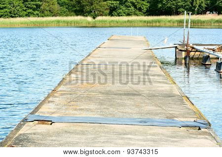 Floating Concrete Bridge