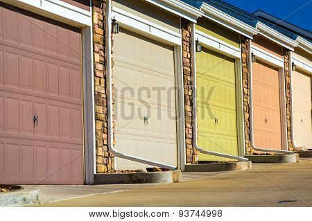 Colorful Garage Doors
