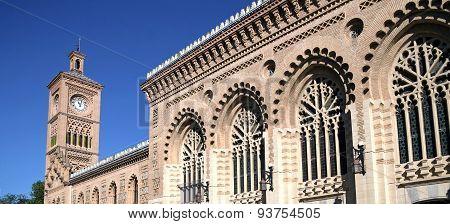 Station Building In Toledo, Spain